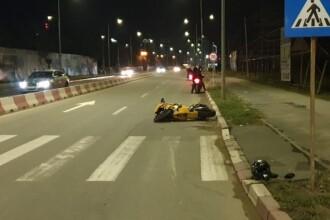 Polițistă de 23 ani rănită de un motociclist, la Năvodari. Ce a făcut tânăra înainte de accident