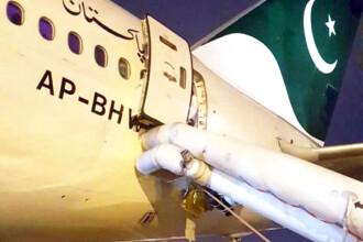 Pasagera unui avion a deschis o ieșire de urgență crezând că e toaleta. Ce a urmat