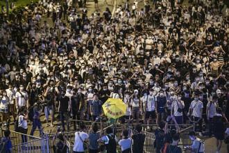 Cum arată un protest cu 1 milion de oameni în Hong Kong. Legea care i-a nemulțumit