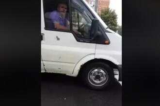 Reacția unui bărbat prins aruncând un muc de țigară pe jos, în Arad. VIDEO