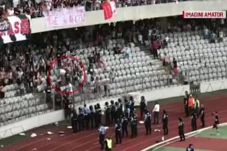 Anunțul medicilor privind starea de sănătate a jandarmului rănit pe stadionul din Cluj