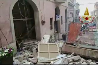 16 răniți în urma unei explozii, lângă Roma. Muncitorii au spart o magistrală de gaze