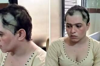Tânăra bătută, agresată şi rasă în cap din cauza orientării sexuale. Cum a fost găsită. FOTO
