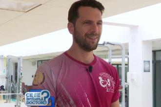 Adrian Nartea, de la instructor de squash, la actorie. Cum se pregătește pentru serialul Vlad