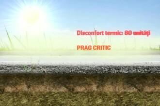 Căldură excesivă și disconfort termic. Ce temperaturi vor fi în următoarele zile