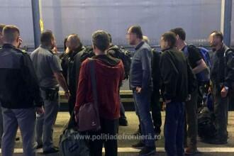 Unde s-au ascuns 11 turci care încercau să plece ilegal din România. VIDEO