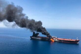 """Incidentul din Golful Oman. SUA acuză Iranul pentru """"atacul flagrant"""""""