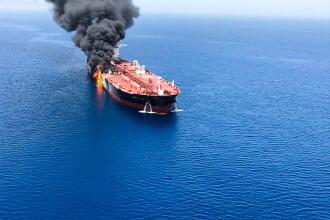 Iranul acuză SUA că se află în spatele atacurilor petrolierelor la Marea Oman