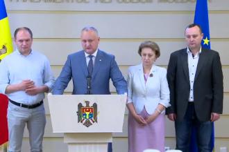 Republica Moldova are, de o săptămână, 2 guverne și 2 președinți. Reacția lui Igor Dodon