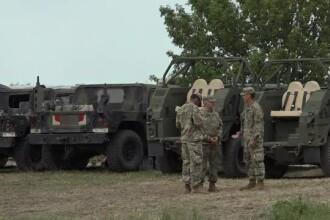 Un militar american, rănit la exerciţiu NATO în Buzău. A căzut într-un lan de porumb