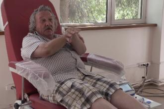 """Românul care a donat sânge de 193 de ori: """"Am văzut că mă simt din ce în ce mai bine"""""""