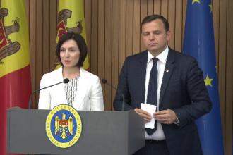 Noul Guvern din R.Moldova își începe luni activitatea. Maia Sandu a cerut sprijinul UE