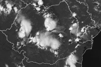 Atenționare meteo. Cod galben de ploi torențiale și grindină în nouă judeţe