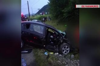 Tragedie pe un drum național din Maramureș. Printre victime, și o fetiță de 12 ani