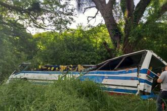 Cel puţin 18 oameni au murit într-un accident de autocar produs în Venezuela