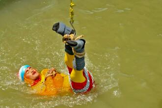 Cum a fost găsit magicianul dispărut într-un râu după o cascadorie în stil Houdini