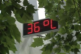 Cod galben de caniculă în Bucureşti şi 35 de judeţe