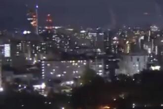 Imagini din timpul cutremurului de 6,7 din Japonia. Oamenii au ieșit panicați în stradă