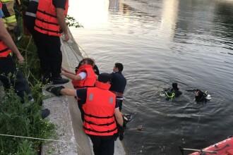 Un tânăr de 25 de ani s-a înecat în râul Dâmbovița. El ar fi vrut să salveze un minor