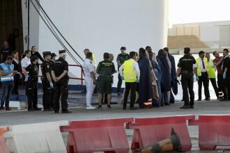 Operațiune de salvare în largul coastelor Spaniei. Cel puţin 20 de persoane, date dispărute