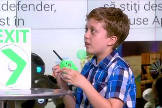 Sistemul inteligent care poate salva multe vieți, dezvoltat de un băiat de 10 ani
