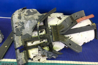 Iranul a publicat primele imagini cu drona americană distrusă. VIDEO