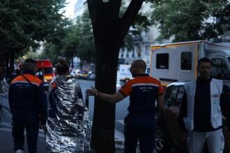 Incendiu puternic în Paris. 2 oameni au murit carbonizați, unul după ce s-a aruncat de la etaj