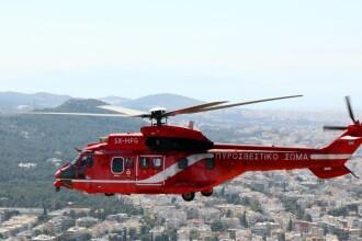 Incendiu de proporții lângă Atena. S-a intervenit cu avioane și elicoptere