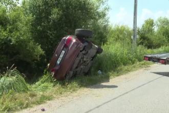 Tânăr din Bistrița, proiectat prin parbriz după ce șoferul a încercat o depășire periculoasă