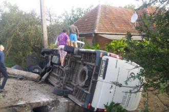 Un șofer a murit după ce a adormit la volan, în Sălaj