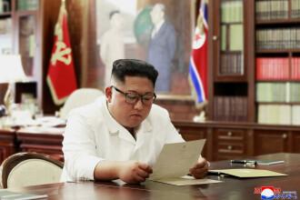 """Coreea de Nord: Kim Jong Un a primit o scrisoare personală """"excelentă"""" de la Trump"""