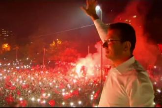 Sărbătoare la Istanbul. Candidatul lui Erdogan, umilit la repetarea alegerilor