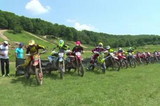 30 de concurenţi s-au întrecut la campionatul național de endurocross