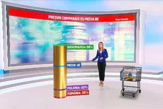 Deşi avem cele mai ieftine alimente din UE, 1 din 4 familii nu face faţă cheltuielilor