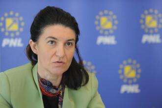 Violeta Alexandru a fost votată preşedinte interimar al organizației PNL Bucureşti