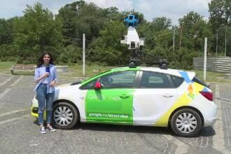 Mașinile Google vor actualiza străzile României. Imaginile care au rămas blocate în timp