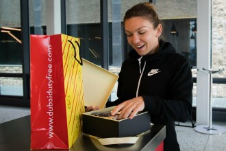 Cadoul primit de Simona Halep înaintea Turneului de la Eastbourne. GALERIE FOTO