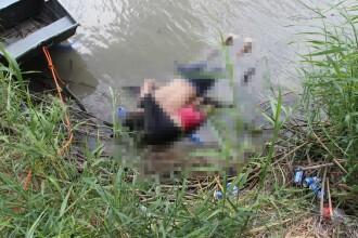 Imagine devastatoare: un tată înecat alături de fetița lui la granița SUA-Mexic