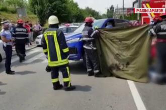 Neatenția unui șofer a făcut o victimă în Cluj. Pietonul, spulberat pe trecere