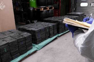 Captură record de metamfetamină, în Europa. Valorează sute de milioane de euro