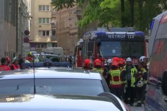 """Explozie într-o clădire din centrul Vienei: """"Este ca şi cum o bombă a zburat înăuntru"""""""