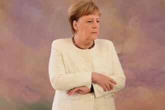 Prima declarație a cancelarului Angela Merkel privind crizele de tremurat