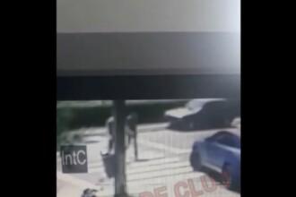 Momentul în care un om de afaceri a ucis un tânăr pe trecerea de pietoni, în Cluj
