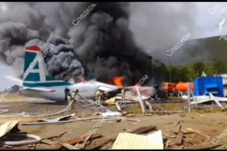 VIDEO. Un pasager a filmat avionul care a ratat aterizarea și a lovit o clădire
