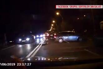 Accidentul produs de un șofer din Galați care nu s-a asigurat în trafic