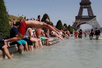 MAE: Cod de caniculă în Franța. Regiunile cele mai afectate