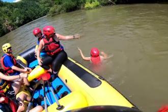 Râurile din România care atrag turiştii străini.