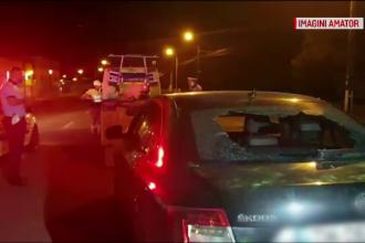Focuri de armă pe A1, după ce un bărbat a forțat intrarea în țară. Descoperirea polițiștilor