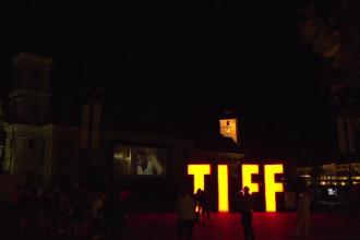 Sibiul s-a transformat într-un uriaș cinematograf. Filmul care a fascinat spectatorii