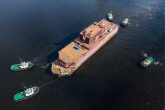 """""""Cernobîlul plutitor"""" a plecat într-o călătorie de 5.000 km. Care e prima sa misiune"""